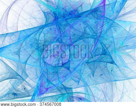 Digital abstract fractal background generated at computer.