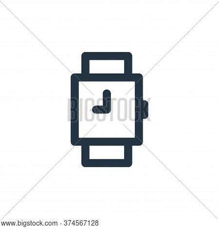 watches icon isolated on white background from marketing business collection. watches icon trendy an