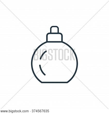 perfume icon isolated on white background from accessory collection. perfume icon trendy and modern
