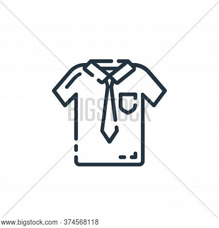 shirt icon isolated on white background from startup collection. shirt icon trendy and modern shirt