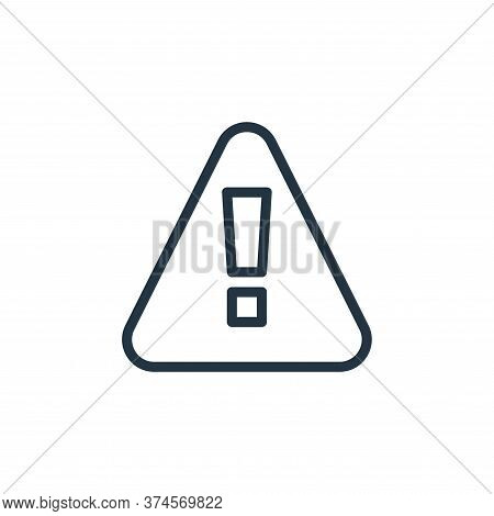 alert icon isolated on white background from miscellaneous collection. alert icon trendy and modern