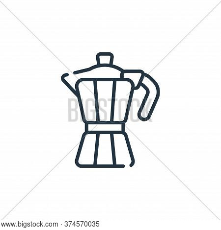 coffee icon isolated on white background from italy collection. coffee icon trendy and modern coffee