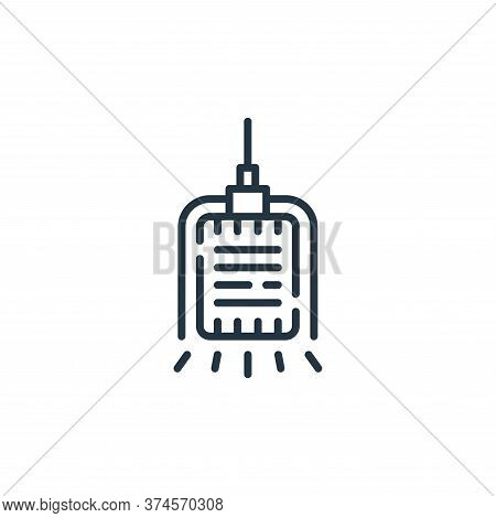 microphone icon isolated on white background from circus collection. microphone icon trendy and mode