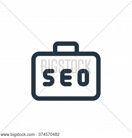 job icon isolated on white background from web apps seo collection. job icon trendy and modern job s
