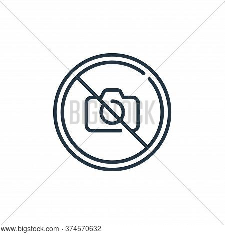 no photo icon isolated on white background from mall collection. no photo icon trendy and modern no