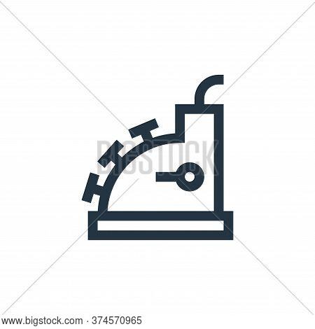 cashier machine icon isolated on white background from payment collection. cashier machine icon tren