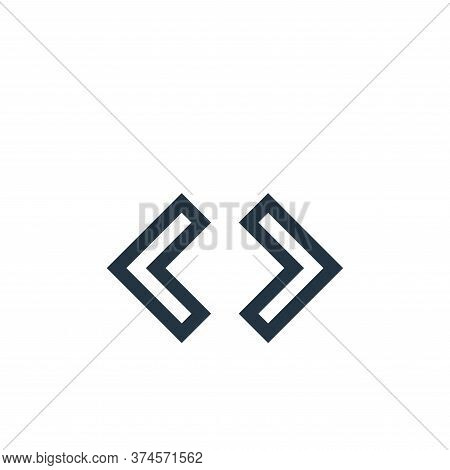 source icon isolated on white background from text editor collection. source icon trendy and modern