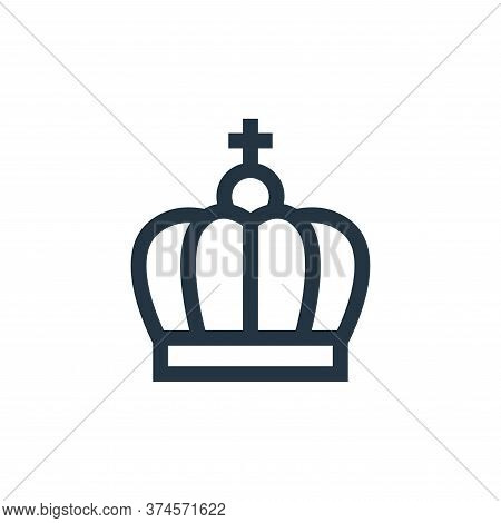 crown icon isolated on white background from holland collection. crown icon trendy and modern crown