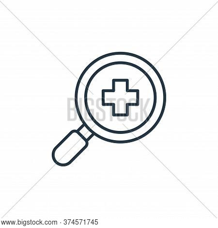 healthcare icon isolated on white background from retirement collection. healthcare icon trendy and
