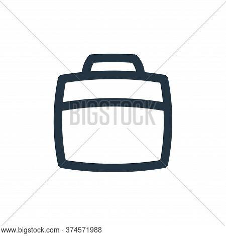 suitcase icon isolated on white background from basic ui collection. suitcase icon trendy and modern
