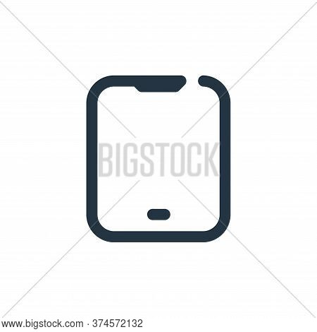 tablet icon isolated on white background from multimedia collection. tablet icon trendy and modern t