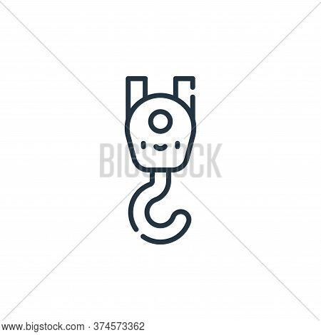 crane icon isolated on white background from labour day collection. crane icon trendy and modern cra