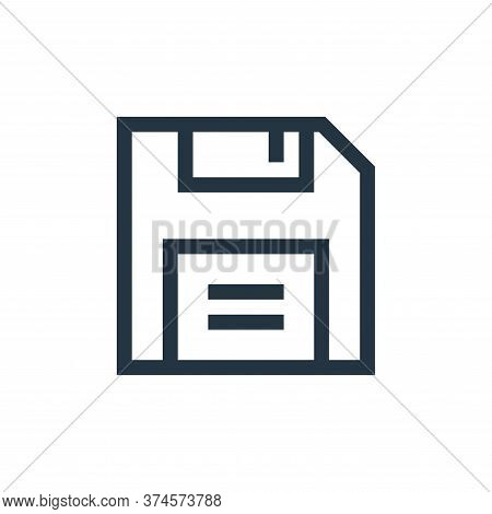 save icon isolated on white background from text editor collection. save icon trendy and modern save