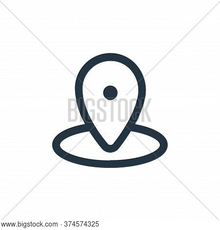 gps icon isolated on white background from device collection. gps icon trendy and modern gps symbol