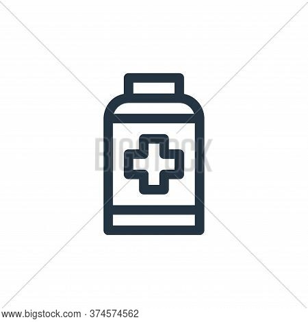 pills icon isolated on white background from emergencies collection. pills icon trendy and modern pi