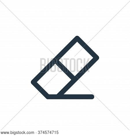 eraser icon isolated on white background from user interface collection. eraser icon trendy and mode