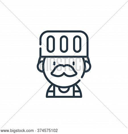 chef icon isolated on white background from labour day collection. chef icon trendy and modern chef