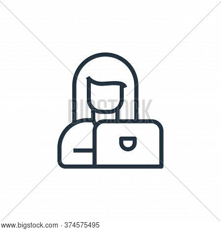 work icon isolated on white background from stay at home collection. work icon trendy and modern wor