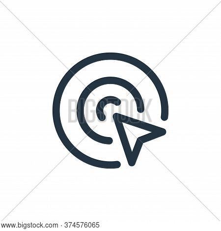 location icon isolated on white background from web apps seo collection. location icon trendy and mo