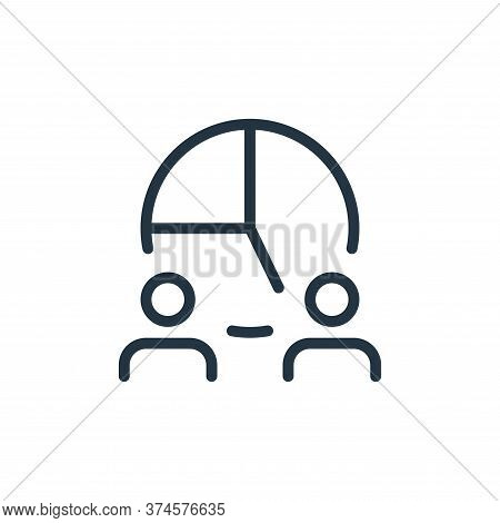 businessman icon isolated on white background from work office and meeting collection. businessman i