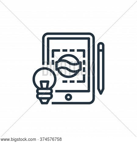 creative icon isolated on white background from branding collection. creative icon trendy and modern