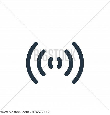 wifi icon isolated on white background from multimedia collection. wifi icon trendy and modern wifi