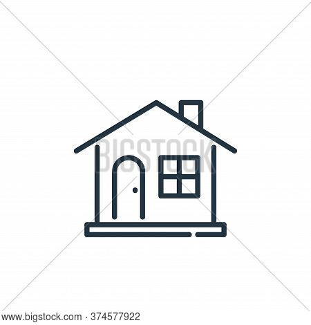 house icon isolated on white background from insurance collection. house icon trendy and modern hous