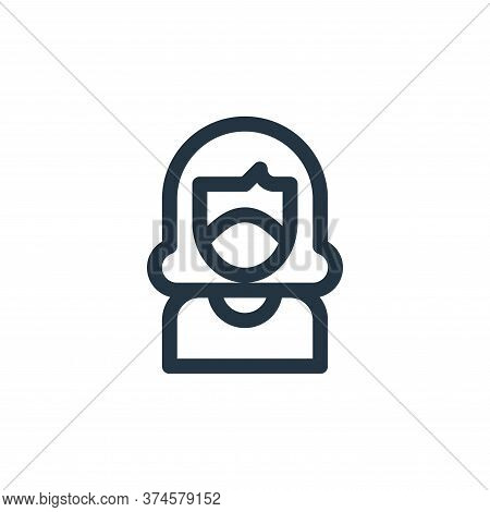 oxygen mask icon isolated on white background from climate change collection. oxygen mask icon trend