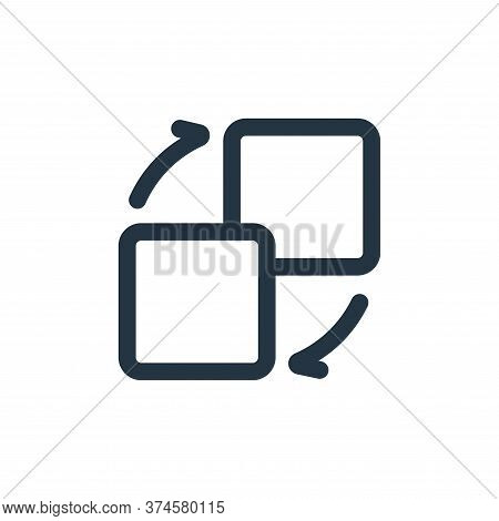minimize icon isolated on white background from interface collection. minimize icon trendy and moder