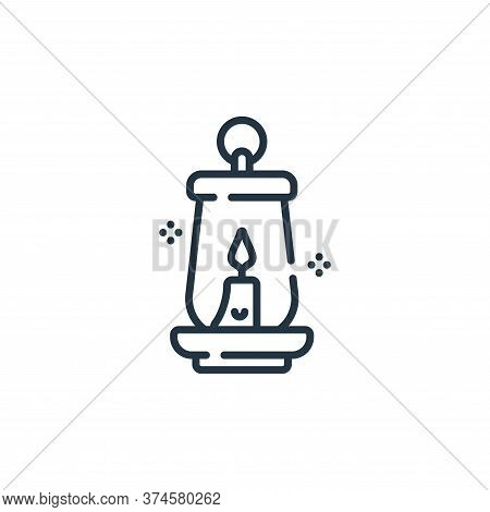 lantern icon isolated on white background from hope collection. lantern icon trendy and modern lante