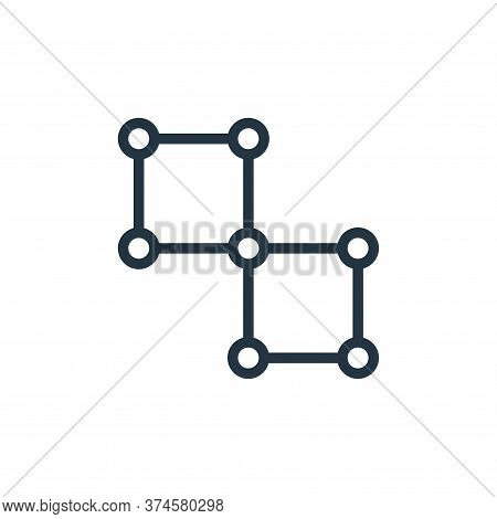 network icon isolated on white background from business collection. network icon trendy and modern n
