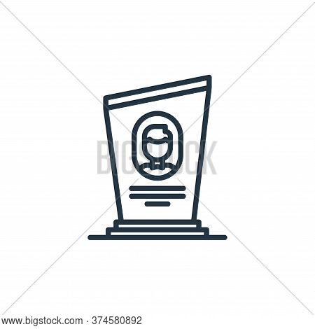 grave icon isolated on white background from funeral collection. grave icon trendy and modern grave