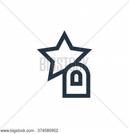 star icon isolated on white background from feedback and testimonials collection. star icon trendy a