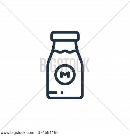 milk icon isolated on white background from holland collection. milk icon trendy and modern milk sym