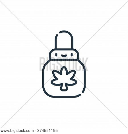 Weed icon isolated on white background from reggae collection. Weed icon trendy and modern Weed symb