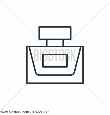 perfume containter icon isolated on white background from accessory collection. perfume containter i