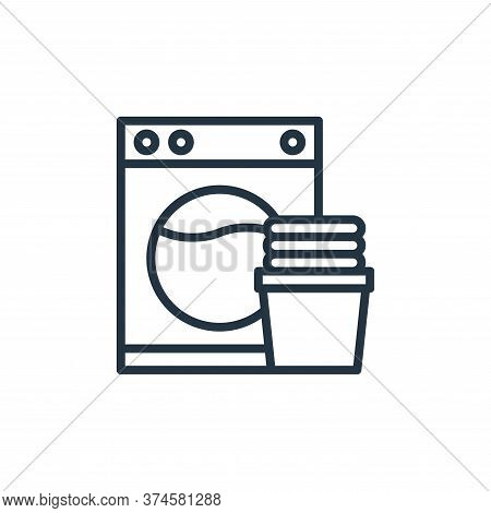 washer machine icon isolated on white background from hotel collection. washer machine icon trendy a