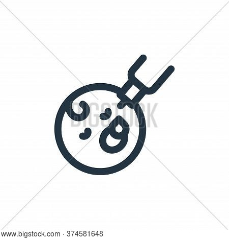 oral vaccine icon isolated on white background from medicine collection. oral vaccine icon trendy an