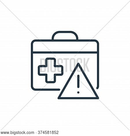 suitcase icon isolated on white background from stop virus collection. suitcase icon trendy and mode