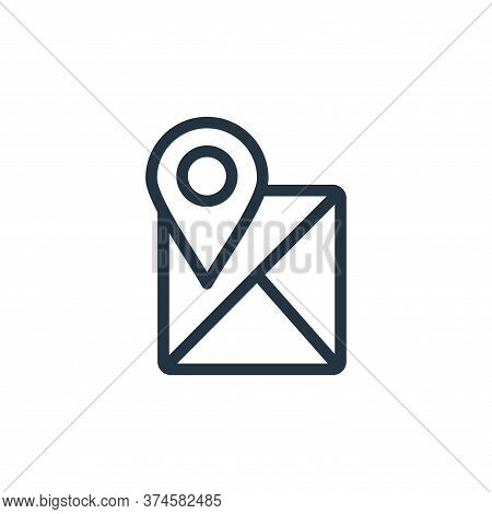 location icon isolated on white background from navigation collection. location icon trendy and mode
