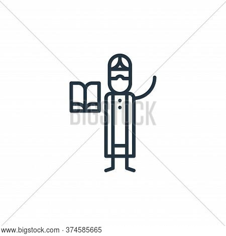 religious icon isolated on white background from general arts collection. religious icon trendy and