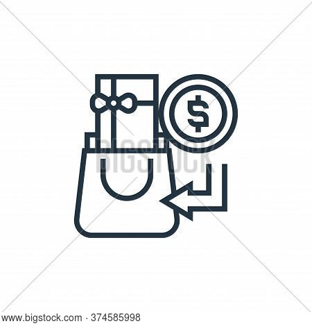 cash payment icon isolated on white background from payment element collection. cash payment icon tr