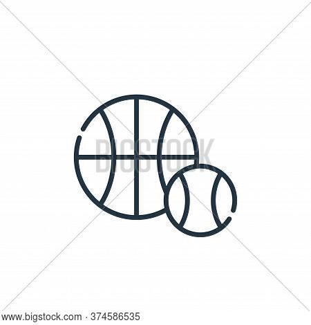sports icon isolated on white background from academy collection. sports icon trendy and modern spor