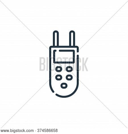 analyzer icon isolated on white background from electrician tools and elements collection. analyzer