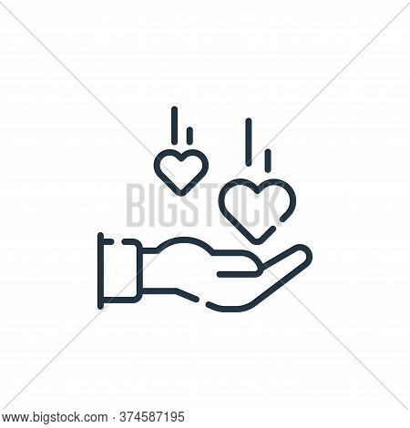 love icon isolated on white background from social media collection. love icon trendy and modern lov