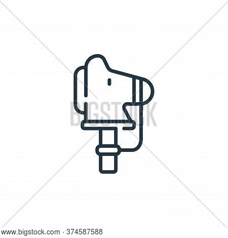 horse icon isolated on white background from children toys collection. horse icon trendy and modern