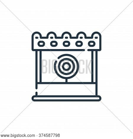 game icon isolated on white background from circus collection. game icon trendy and modern game symb