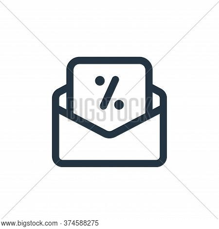 email icon isolated on white background from web apps seo collection. email icon trendy and modern e