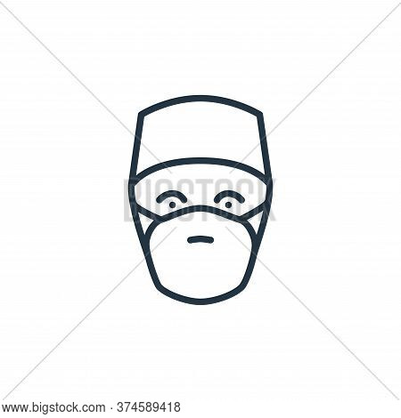 doctor icon isolated on white background from stop virus collection. doctor icon trendy and modern d
