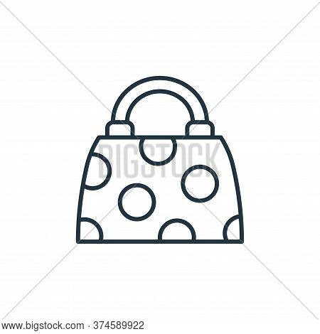 bag icon isolated on white background from accessory collection. bag icon trendy and modern bag symb